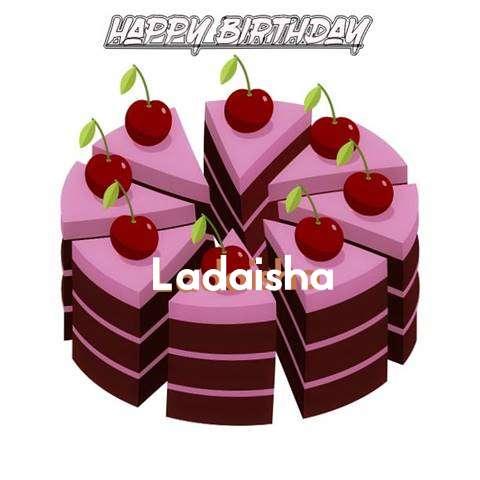 Happy Birthday Cake for Ladaisha