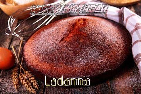 Happy Birthday Ladanna Cake Image