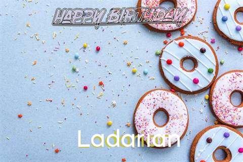 Happy Birthday Ladarian Cake Image