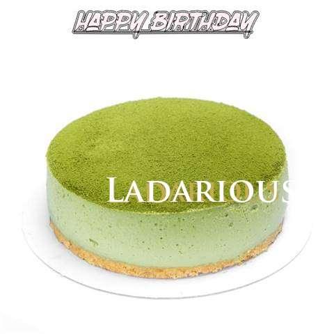 Happy Birthday Cake for Ladarious