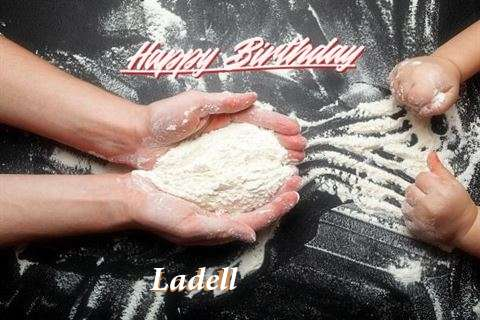 Happy Birthday Ladell Cake Image