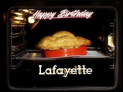 Happy Birthday Cake for Lafayette