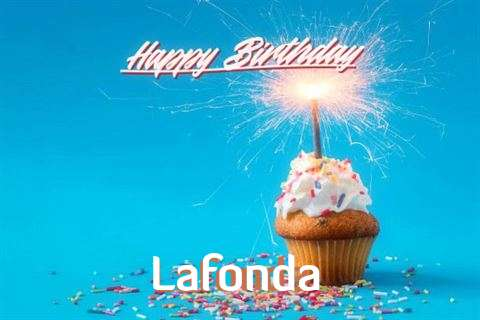 Happy Birthday Cake for Lafonda
