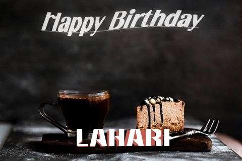 Happy Birthday Wishes for Lahari
