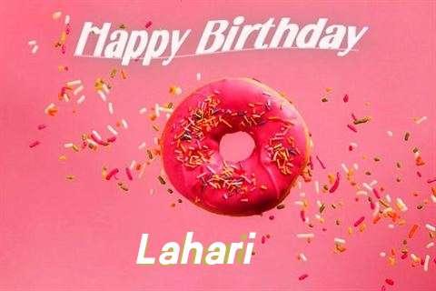 Happy Birthday Cake for Lahari