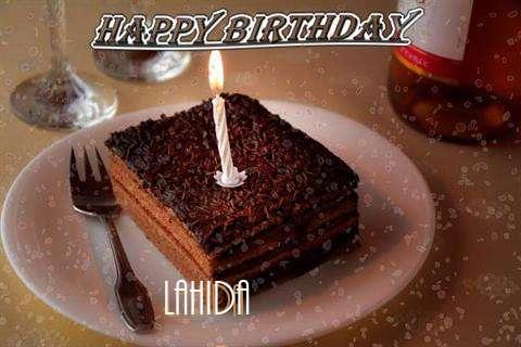 Happy Birthday Lahida