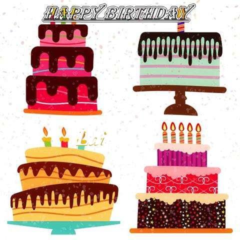 Happy Birthday Lai Cake Image
