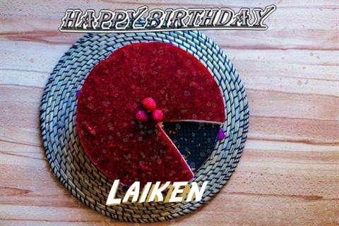 Happy Birthday Wishes for Laiken