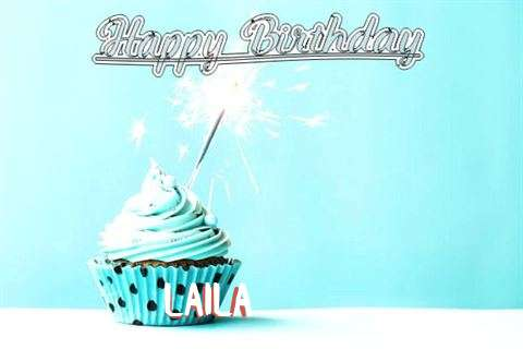 Happy Birthday Cake for Laila