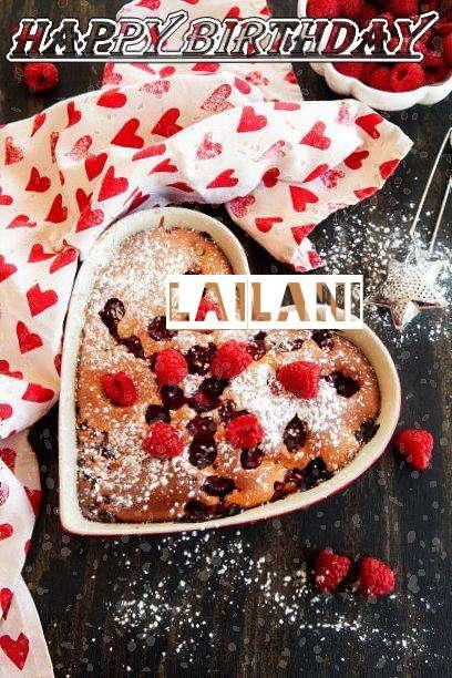 Happy Birthday Lailani Cake Image