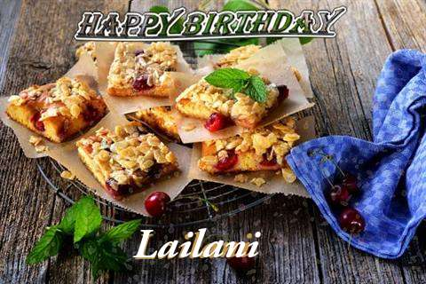 Happy Birthday Cake for Lailani