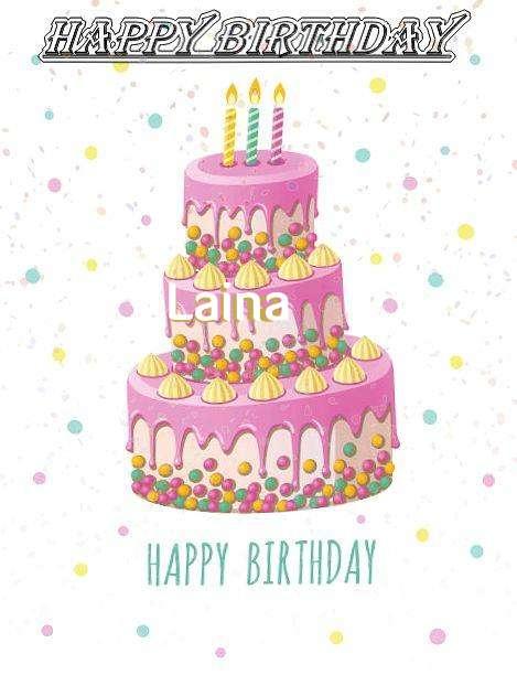 Happy Birthday Wishes for Laina
