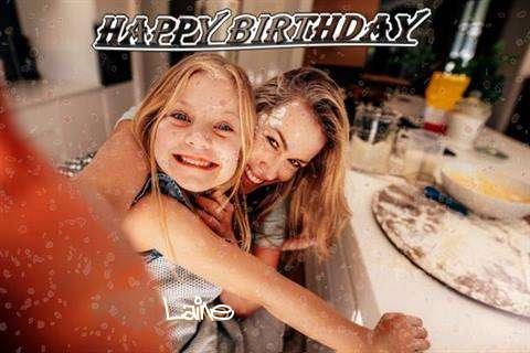Happy Birthday Laine