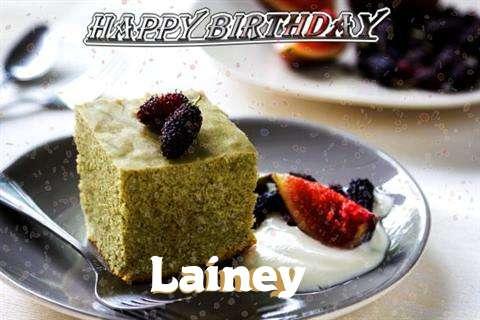 Happy Birthday Lainey Cake Image