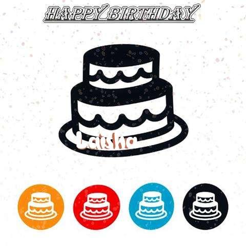 Happy Birthday Laisha Cake Image