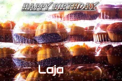 Happy Birthday Wishes for Laja