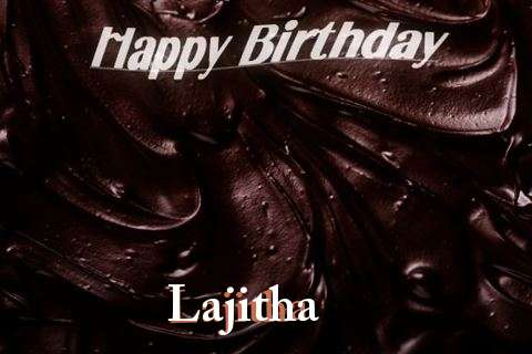 Happy Birthday Lajitha Cake Image