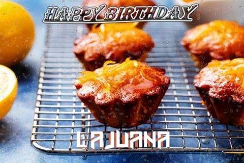 Happy Birthday Cake for Lajuana