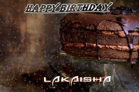 Happy Birthday Cake for Lakaisha