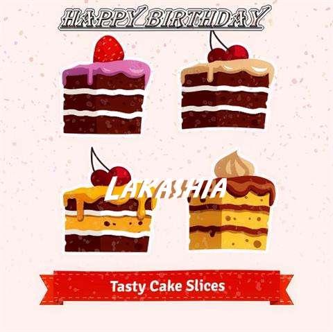 Happy Birthday Lakashia Cake Image
