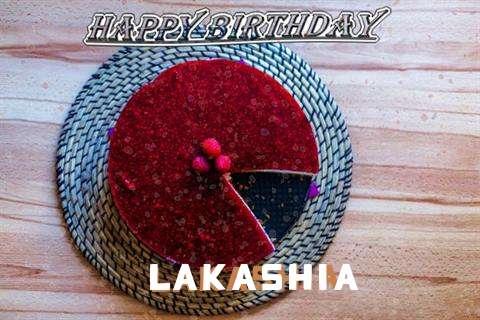 Happy Birthday Wishes for Lakashia