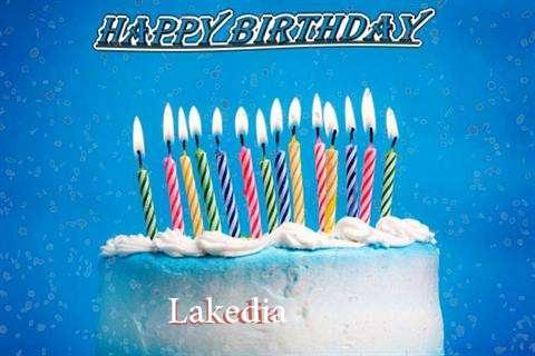 Happy Birthday Cake for Lakedia