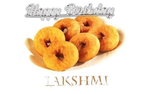Happy Birthday Lakshmi