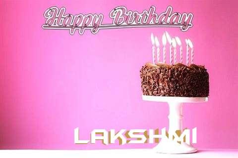 Happy Birthday Cake for Lakshmi
