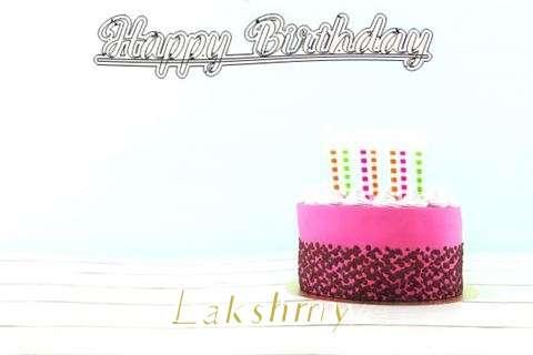 Happy Birthday to You Lakshmy