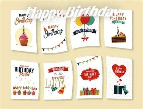 Happy Birthday Cake for Lakya