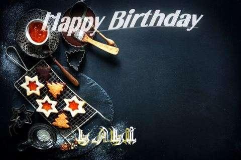 Happy Birthday Lali Cake Image
