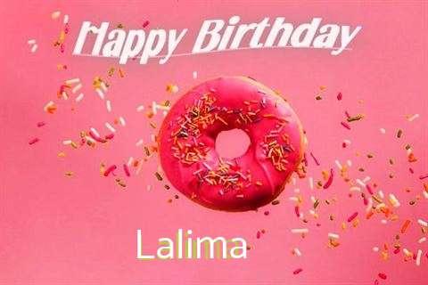 Happy Birthday Cake for Lalima