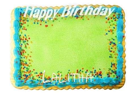 Happy Birthday Lalitha Cake Image