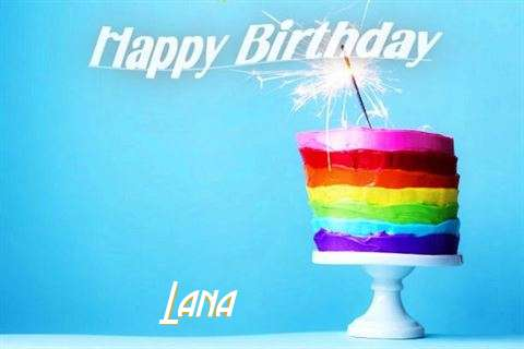 Happy Birthday Wishes for Lana