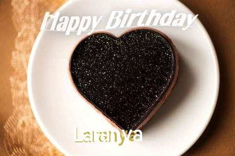 Happy Birthday Laranya Cake Image