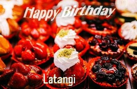 Happy Birthday Cake for Latangi
