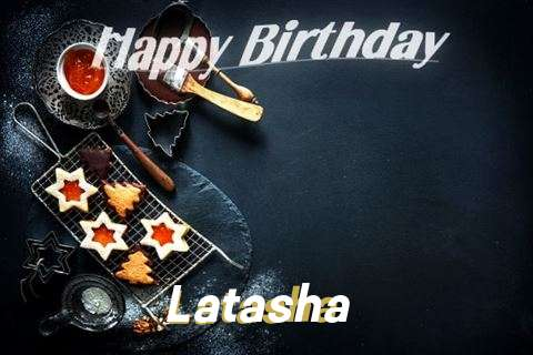 Happy Birthday Latasha Cake Image
