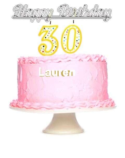 Wish Lauren