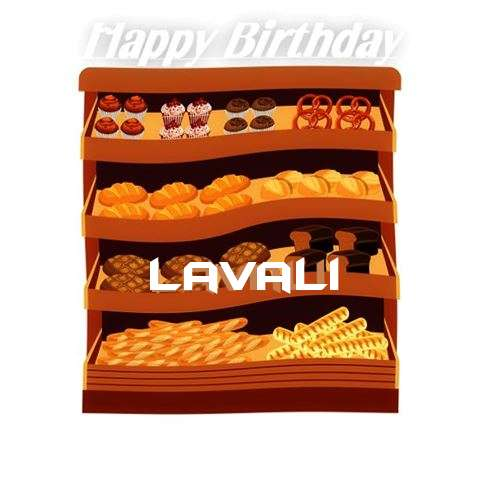 Happy Birthday Cake for Lavali
