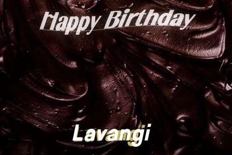 Happy Birthday Lavangi Cake Image