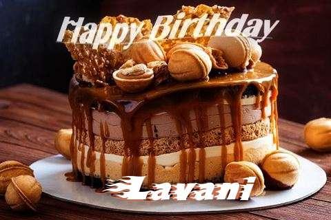 Happy Birthday Wishes for Lavani
