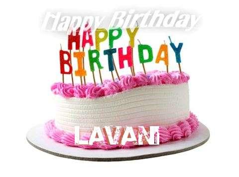 Happy Birthday Cake for Lavani