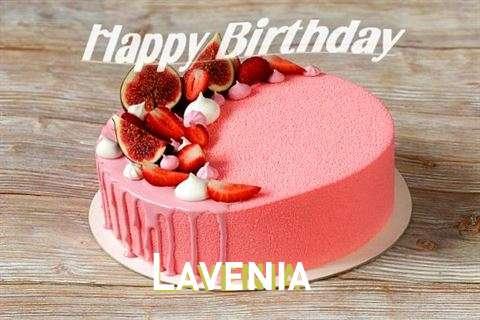 Happy Birthday Lavenia