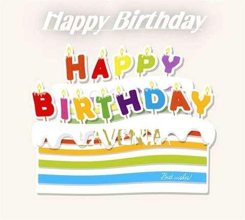 Happy Birthday Wishes for Lavenia
