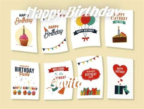Happy Birthday Cake for Lavita
