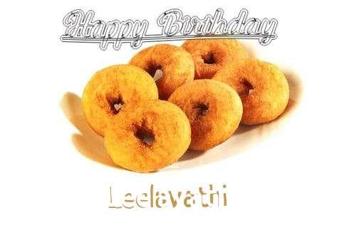 Happy Birthday Leelavathi