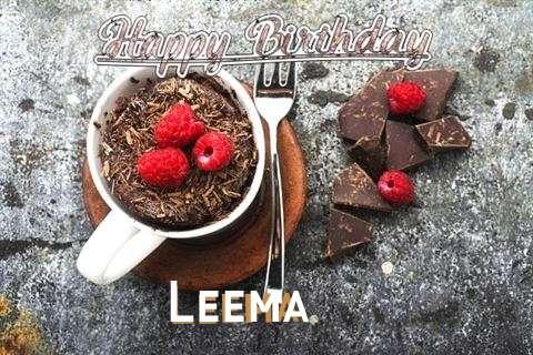 Happy Birthday Wishes for Leema