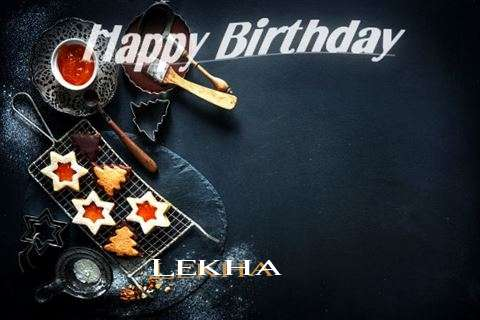 Happy Birthday Lekha Cake Image