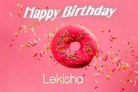 Happy Birthday Cake for Lekisha