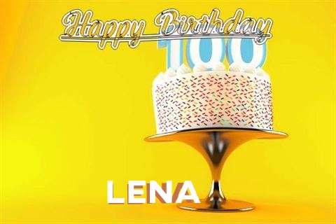 Happy Birthday Wishes for Lena